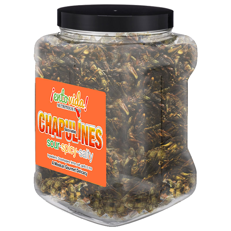 Toasted grasshoppers for sale