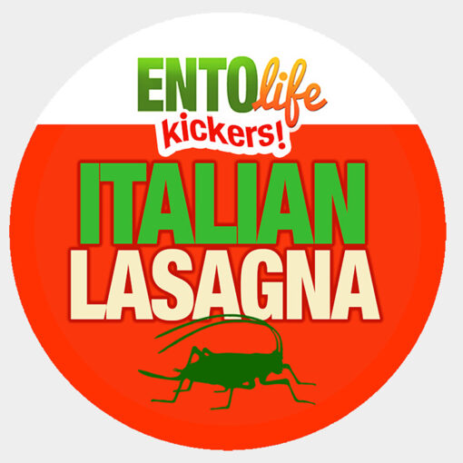 Mini-Kickers | Italian Lasagna Flavored Crickets