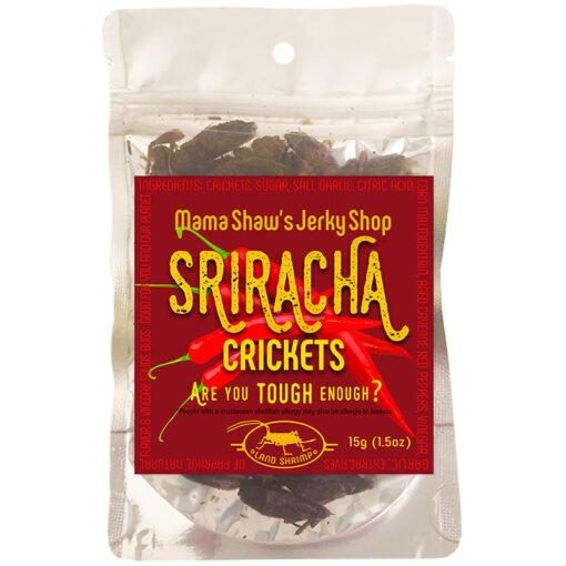 Sriracha Crickets