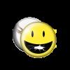 Smiley Bug Button