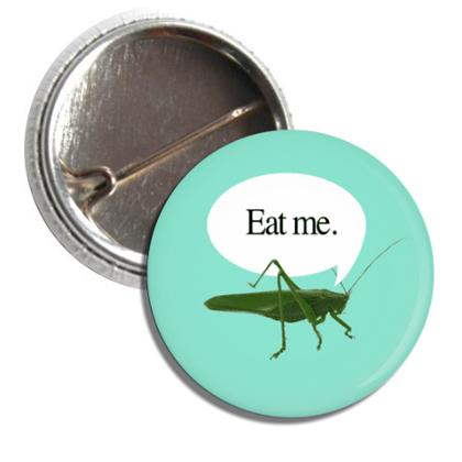 Bug Button: Eat Me