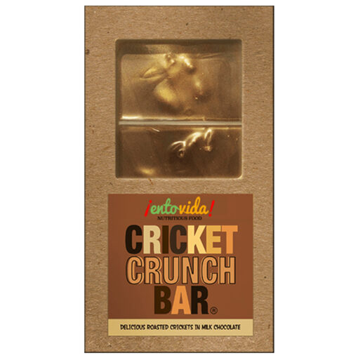 Milk Chocolate Cricket Crunch Bar