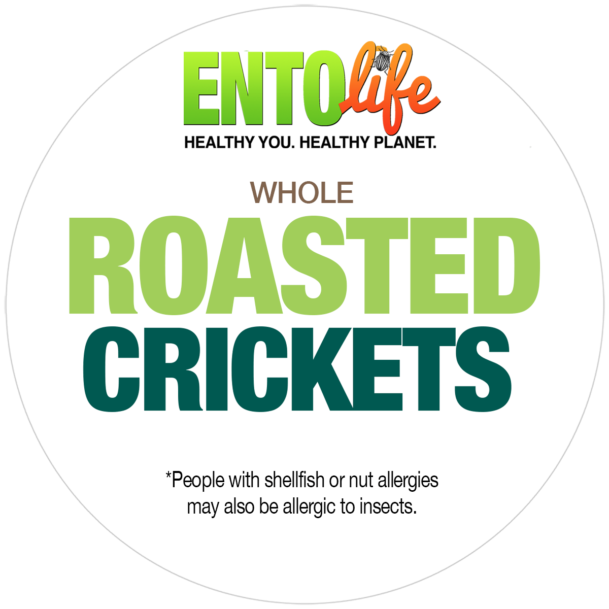 Bulk Roasted Crickets