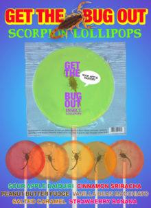 Scorpion Lollipops